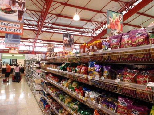 Costa Rican Supermarket