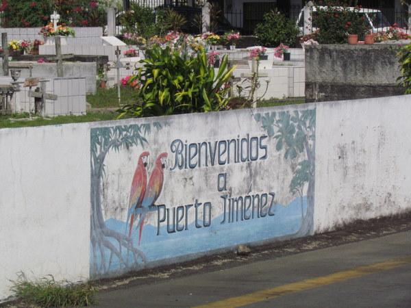 Welcome to Puerto Jimenez