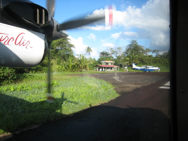 A typical airport in Costa Rica