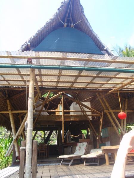 Beach house at Boca Sombrero